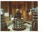 David Gooderson DOCTOR WHO Davros (Destiny of the Daleks) Genuine Signed Autograph 10x8 COA 246